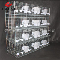 Competitive Price Galvanized Pigeon Breeding Cages Design For Sale