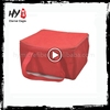 Newest design various color insulation non woven bottle cooler bags