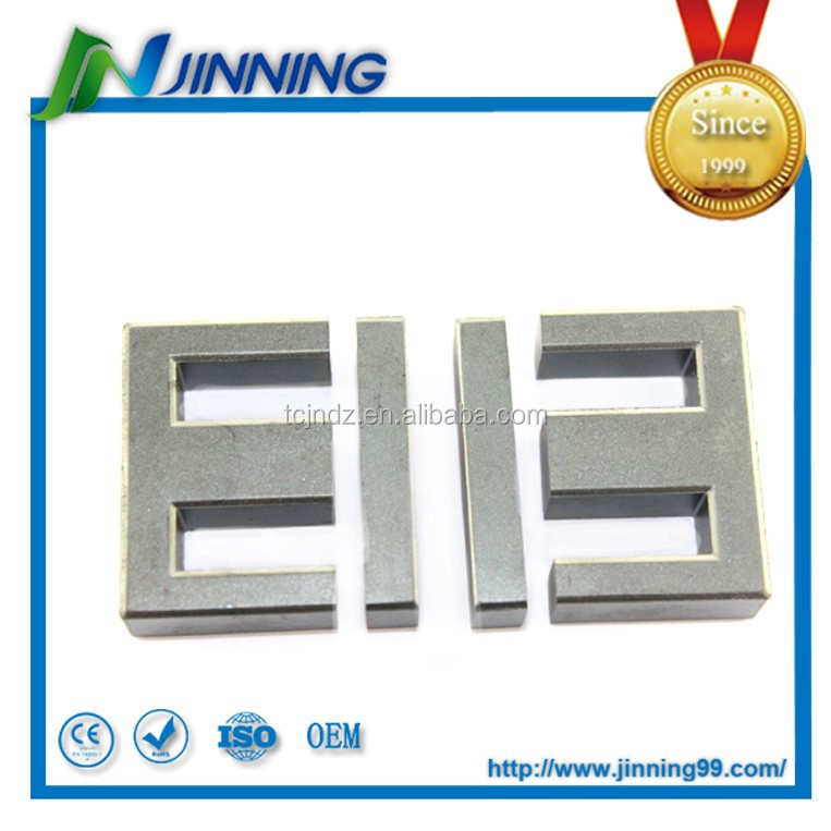 High frequency transformer ferrite core EI 40 , soft ferrite core matched with bobbin