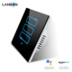 Lanbon 3 Gang Smart Home WiFi Wireless light Switch Fr Apple Android APP remote compatible with Google Home & Amazon Echo Alexa