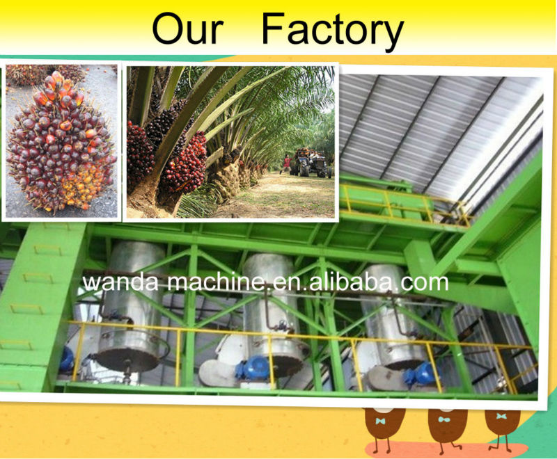 Hot sale refining of crude palm kernel oil