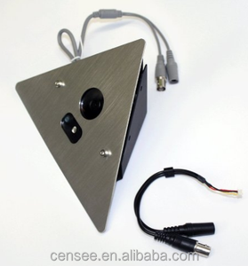 1/3 Sony Super HAD CCD II metal housing case 700TVL 0.1Lux Corner Mountable Camera 2.8mm Wide Angle 12v