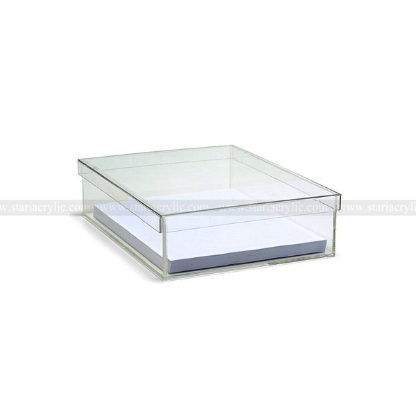Acrylic Paper Box,Clear Plastic File Box,Clear Perspex A4 Paper ...