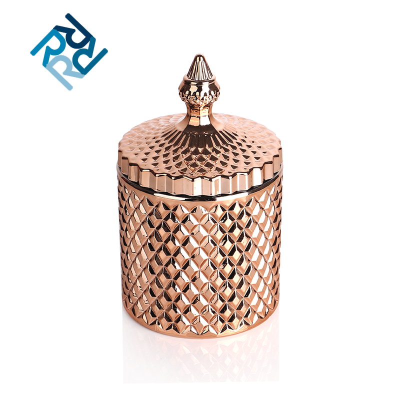 Cd007 New Fashion Custom Logo Home Decor Gold Candle holder Supplier From China