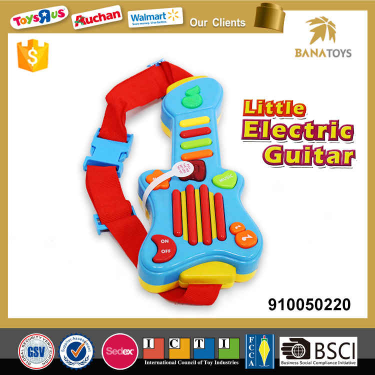 Cute musical instrument guitar electric classic guitar toy