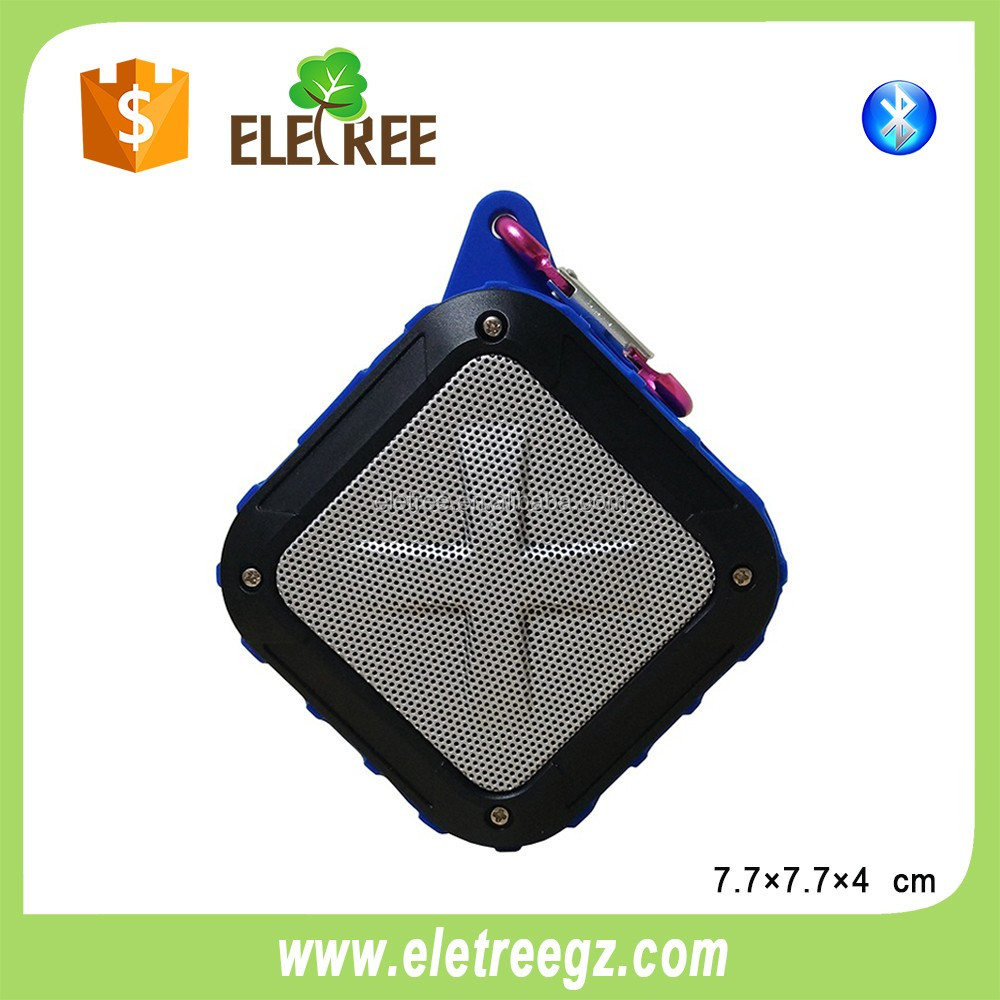 Good quality outdoor portable ip4 waterproof bluetooth speaker solar bluetooth speaker support mp3 player and fm radio