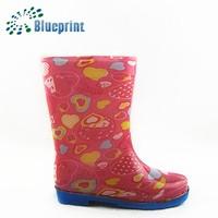 kids rain boots pvc custom logo rain boots