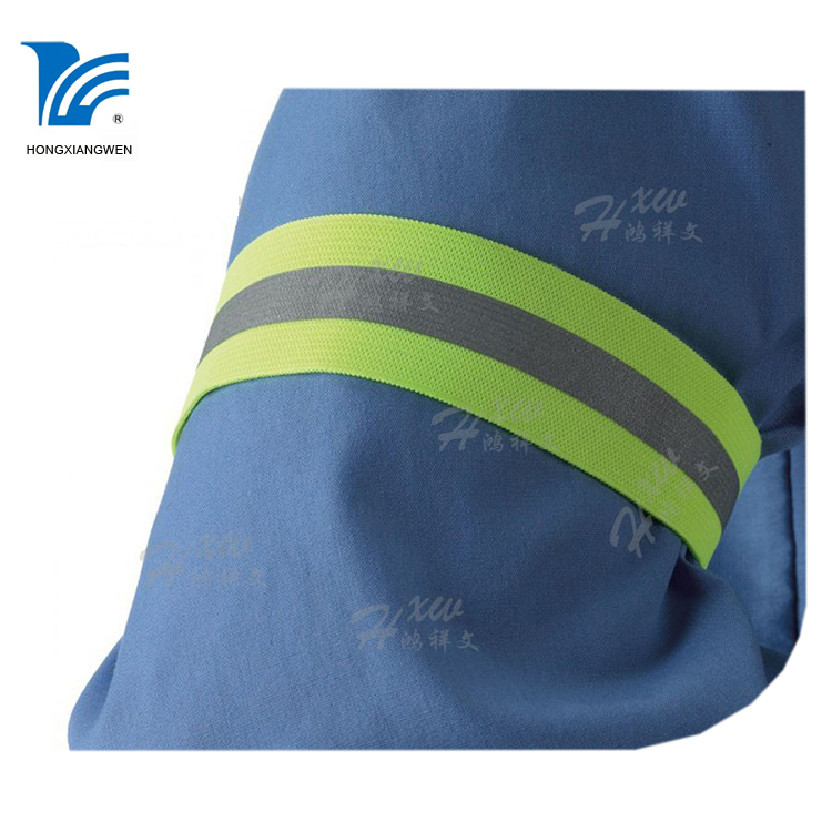 Extremely durable Easily Adjustable Elastic reflective arm bands