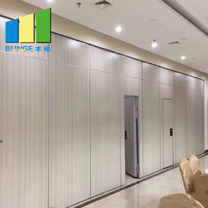 Ready To Ship Dubai Dinner Room Temporary Movable Partition Walls Restaurant Wooden Acoustic