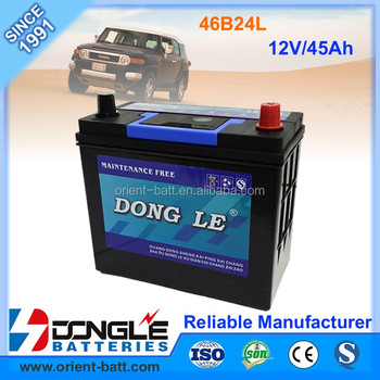 Hybrid Car Battery For Honda Civic 46B24L MF 12 Volt Batteries