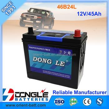 Hybrid Car Battery For Honda Civic 46b24l Mf 12 Volt Batteries