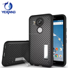 Mobile Cover Mesh Net Polka Dot Kickstand tpu pc Phone Case for LG Nexus 5X