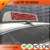 Amazing flexible p4 LED curtain display screen, LED Taxi Top for quality vision