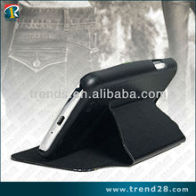 standing leather mobile phone case for samsung galaxy s4 i9500