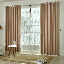 Custom 100% polyester drapery for hotel room curtains and draps blackout curtain