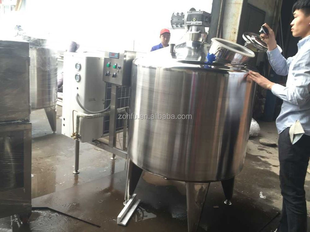 100-1000l Milk Cooling Equipment,Milk Cooler Tank For Cow Dairy ...