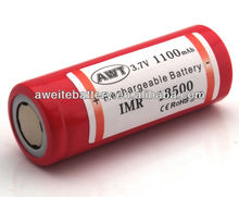 2013 brand new 1100mah cylindrical lithium ion rechargeable leoch battery