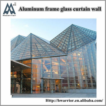 Commercial Glass Curtain Wall Building Modern House Plans Buy