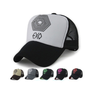 162e02436ec Custom design multicolor trucker men mesh hat quality baseball caps with printed  logo
