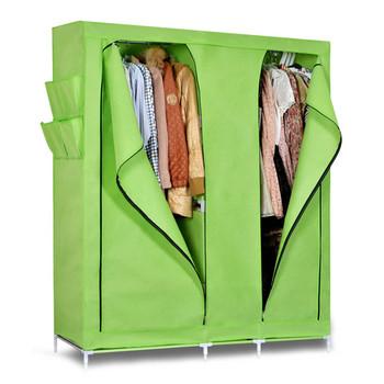 Unique Furniture Portable Clothes Wardrobe Waterproof Closet Organizer