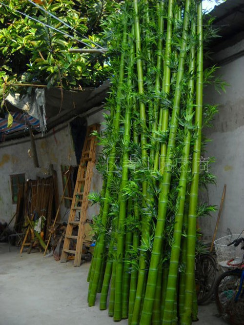 Natural Looking Artificial Outdoor Bamboo Tree Plants Lucky