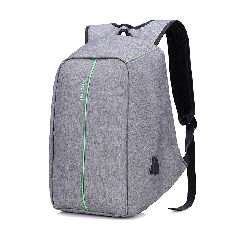 2018 hot sale unisex extra large multi functional usb charger anti theft waterproof backpack laptop bags with secret pockets