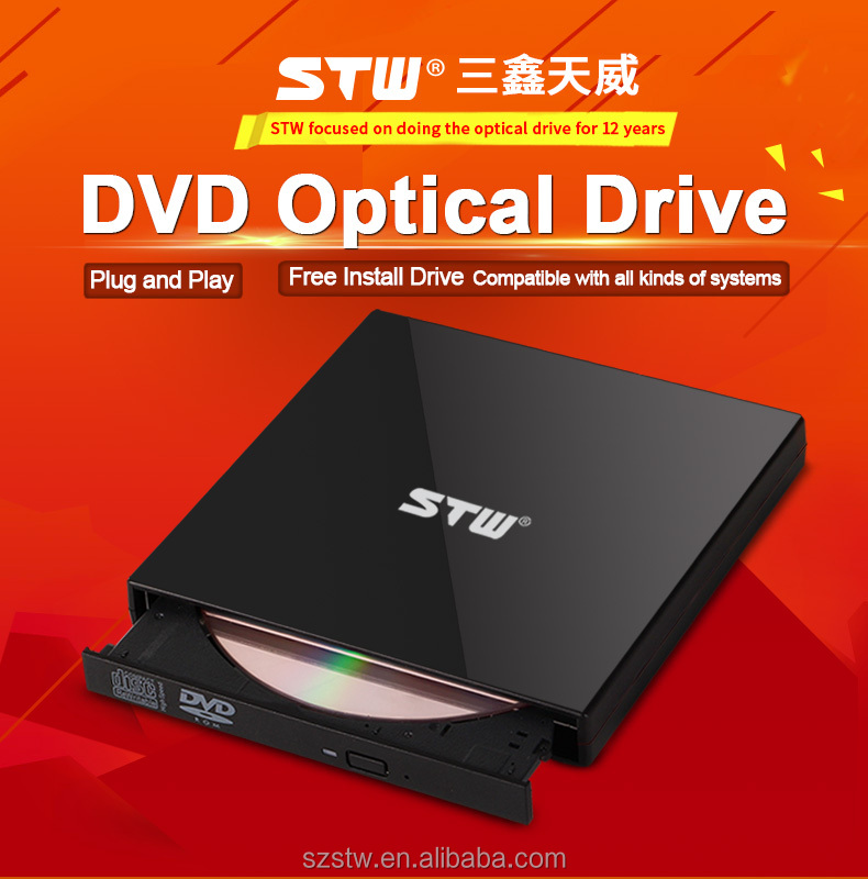 Chinese supplies USB 2.0 Portable USB External DVD CD drive