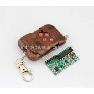 IC 2262/2272 4-Channel Wireless Receiver Module Kits With Remote Control 4 Keys