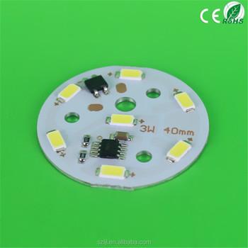 3w 40mm Aluminum Led Pcb Board,Driverless Led Pcb