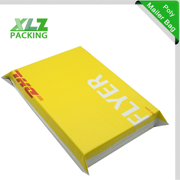 Dhl Courier Parcel Bags Pockets With Logo Print For A4
