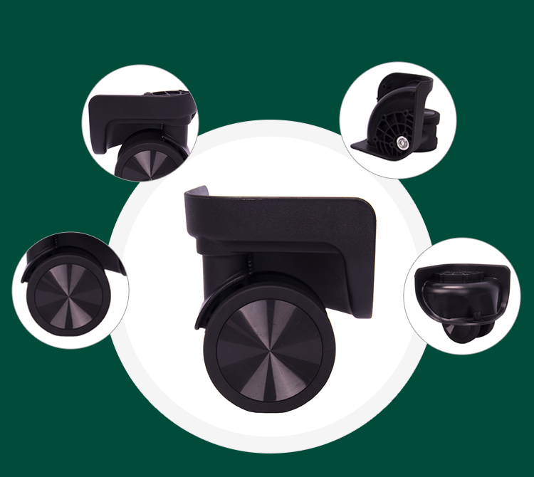 Parts of suitcase spinner wheels