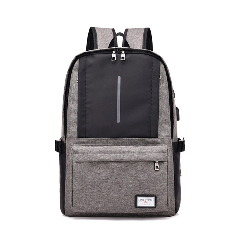 Men Business Laptop Bag Custom Computer Bags Laptop Backpack with USB Charging Port