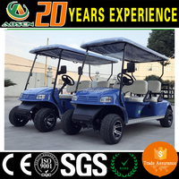 electric 4 person ez go golf cart on sale with cargo box