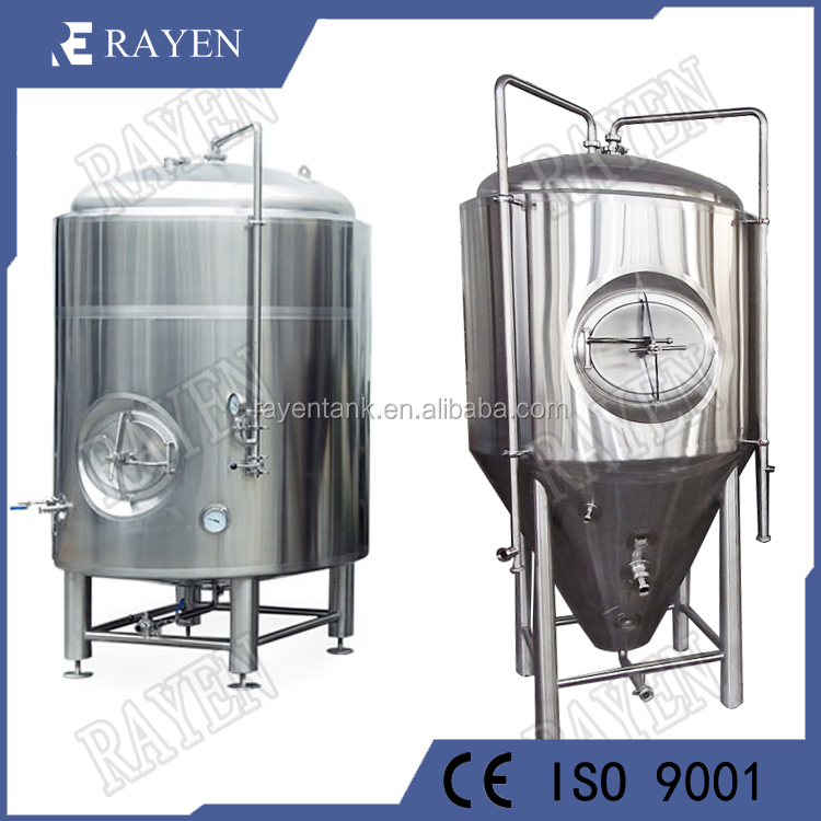 SUS304 or 316L stainless steel beer brewing tanks fermentation container