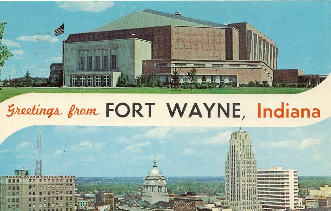 Buy 1960s Vintage Postcard - War Memorial Coliseum and
