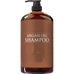 Effective Solution Natural Ingredient Based Argan Oil Shampoo 16oz
