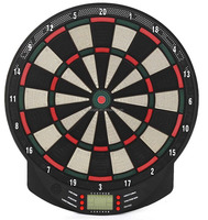 2017 Beautiful and hot-selling LCD automatic scoring display electronic dartboard
