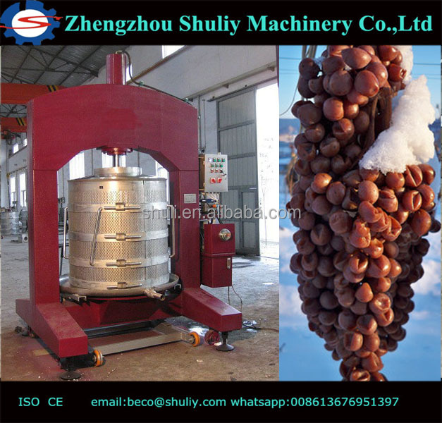 Leading Grape Processing Machinery Products Hydraulische wijnpers te koop 1.5t / hij whatsapp + 8613676951397