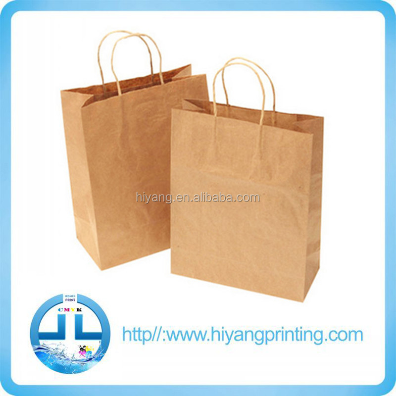 New Design Kraft Paper Bag &amp, shopping Bag With Paper Handle
