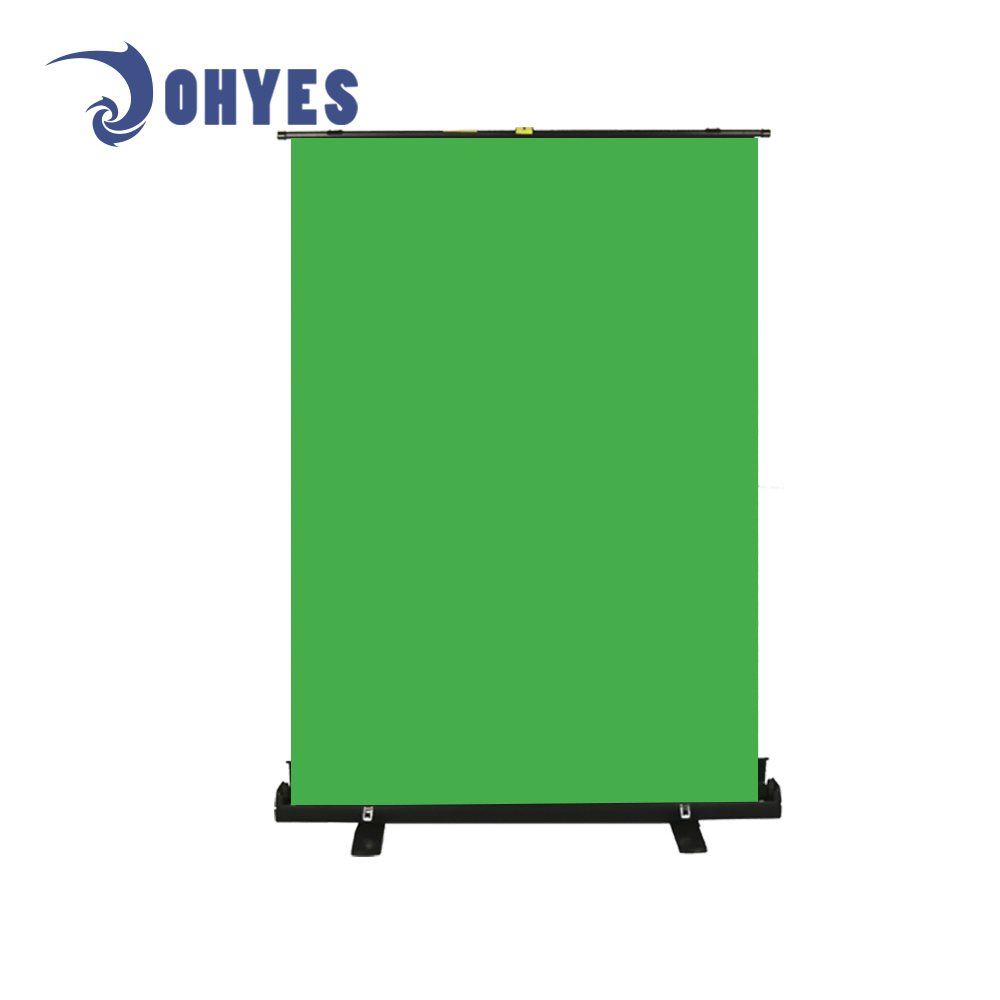 collapsible chroma key 354C portable green screen X frame height adjustable  backdrop green screen, View protable green screen, OHYES Product Details