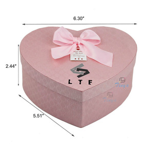 heart shaped empty wedding gift sweet treat love box