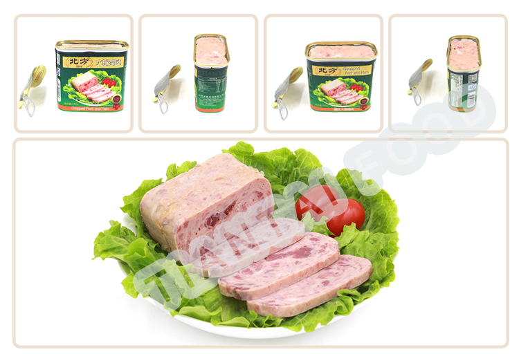 b2b food now foods canned chopped pork and ham