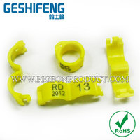 Latest design factory wholesale high safety rings for birds/plastic fence spikes with low price