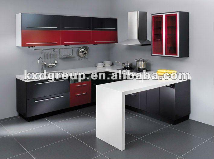 Flash rojo y gris mfc mueble cocina cocinas identificación del ...