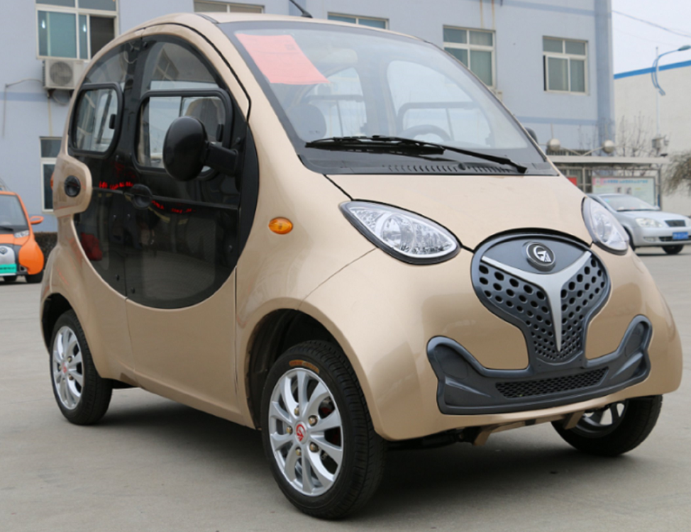 New Design Cheap China Manufacture 4 Seats Electric Car