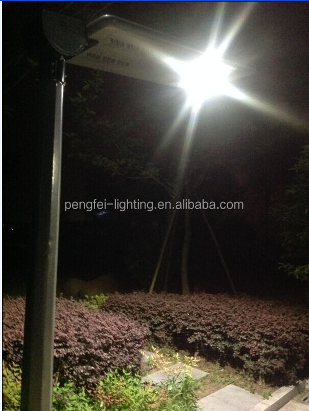 Energy saving outdoor high power 20w all in one solar street light