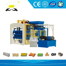 fully automatic machine for concrete blocks/production line for concrete blocks QTY12-15 Concrete Hollow Block machinery