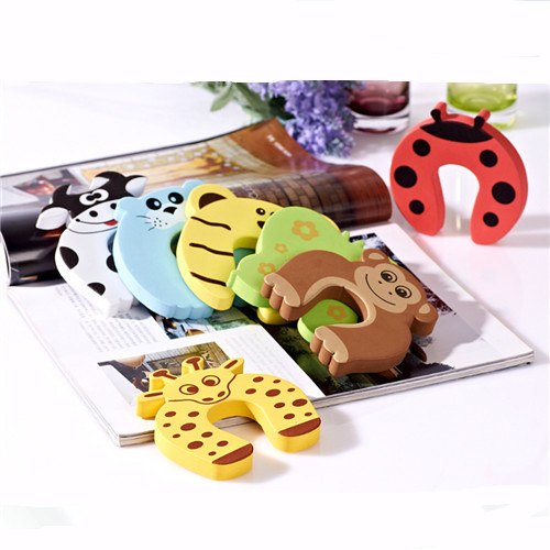 7pcs/lot Baby Kids Safety prevent door clamps Children safe door stop XL120