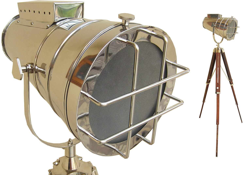Buy Marine Chrome Designer Search Light Floor Lamp
