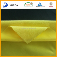 Low Price Yellow Polyester Knitted Fabric For Sportswear